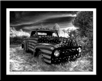 Patriotic Truck In, ME by Steve Eis