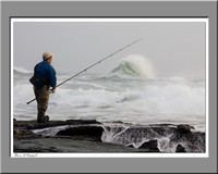 Determined Newport Fisherman by Steve Eis
