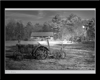 Old Iron Grazing by Steve Eis